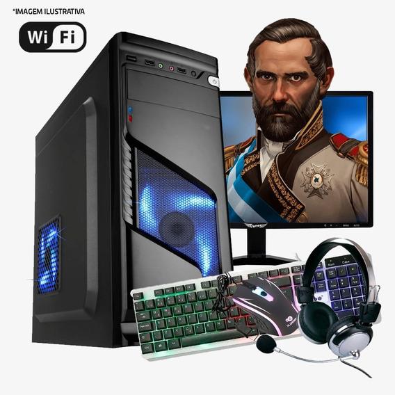 Pc Gamer I5 4ª, 16gb Ram, Hd Ssd 240gb, Gtx1650 4gb Completo