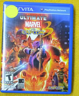 Ultimate Marvel Vs Capcom 3 Psvita Play Magic
