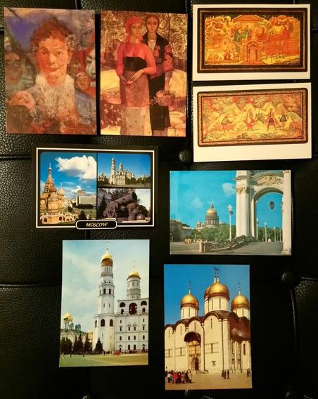 8 Postales De Rusia *