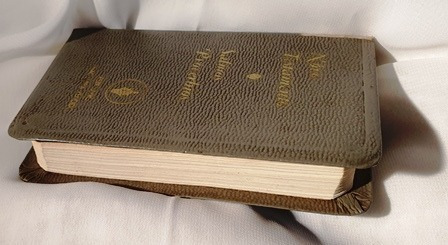 Novo Testamento Salmos Provérbios,bolso, 1967 Gideões Usado