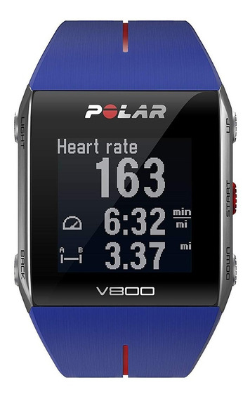 Clips, Brazos Y Muñequeras,reloj Polar V800 Gps Azul Ro..
