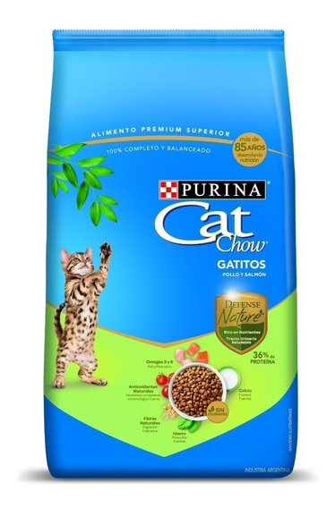 Purina® Cat Chow® Kitten Defense Nature 7,2kg + Regalo