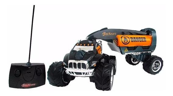 Super Caminhão Jacknife Controle Remoto Manobras Radicais