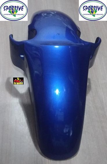 Paralama Dianteiro Moto Cbx 250 Twister Azul Ano 2001 E 02
