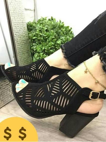 Sandalias Altas Para Dama Moda Importadas En 40$