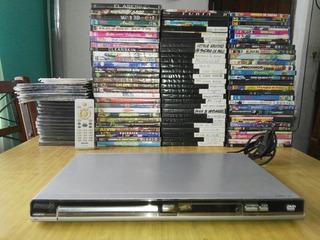 Dvd Philips + Lote De 200 Películas En Dvd Y Blray(copias)