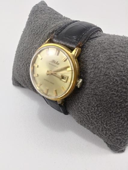 Relógio Mido Feminino Em Ouro 18k!!plaque