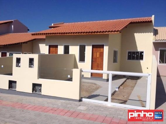 Casa Geminada Nova Para Venda No Bairro Bella Vista, Palhoça, Sc, Programa Minha Casa Minha Vida Mcmv - Ca00151
