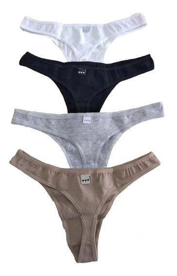 Bombachas Colaless Pack X 4 Promesse Lisas Art 76326