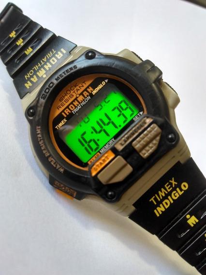 Relogio Timex Ironman Triathlon Shock Resistant 200m Mod 746