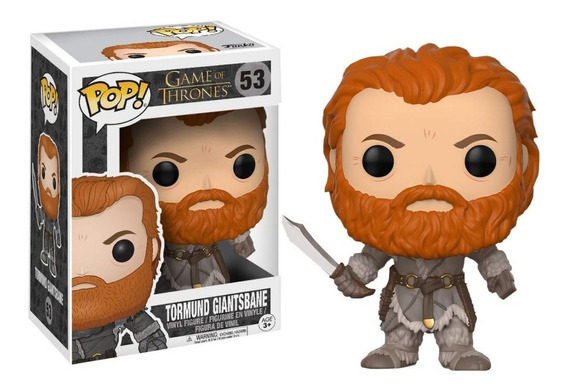 Figura Funko Pop Games Of Thrones - Tormud 53. Original