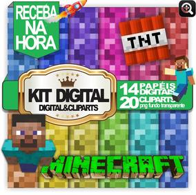 Minecraft Kit Imagens Em Png E Jpg Para Artes Personalizadas