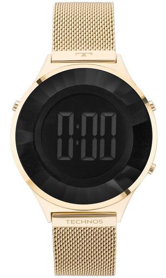 Relógio Technos Feminino Crystal Dourado - Bj3851ad/4p