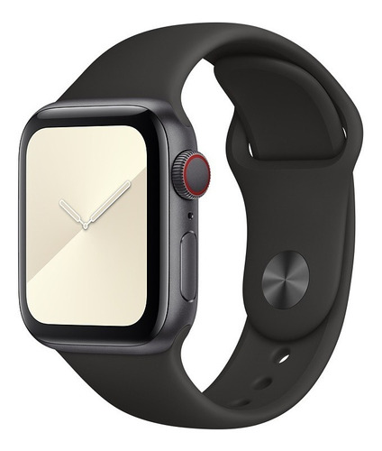 Pulseiras Silicone Lisa Para Apple Watch 38/40/42/44 S/m M/l