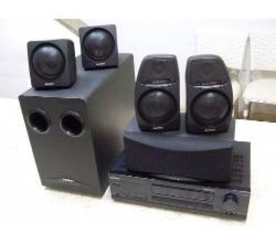 Receiver E Caixas Som/sub Home Theater Gradiente Dpr200