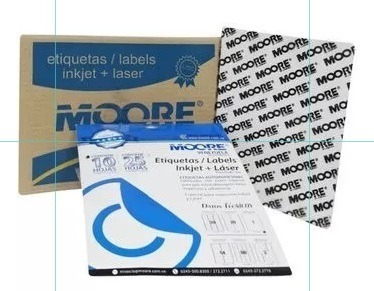 Etiquetas Autoadhesivas (25,4 X 66,7 Mm) (caja 2400 Unds)