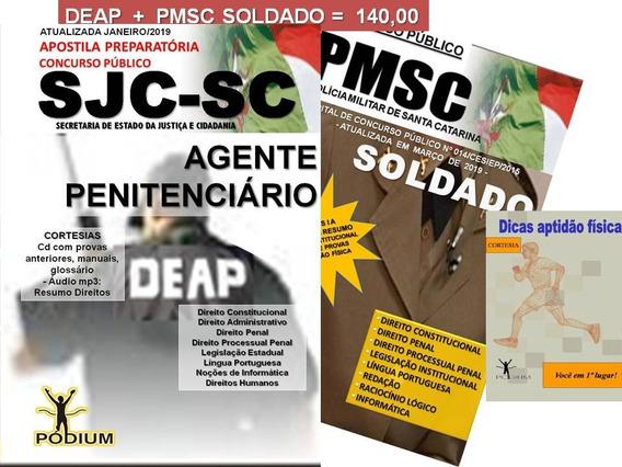 Apostila Concursos Agente Penitenciário Deap Sc E Soldado Pm