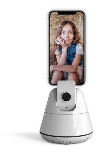 Imagen 1 de 8 de Soporte Para Celular Con Seguimiento Facial Trípode Selfie