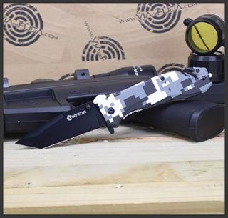 Canivete Tático Phanton Com Clip Invictus + Brinde