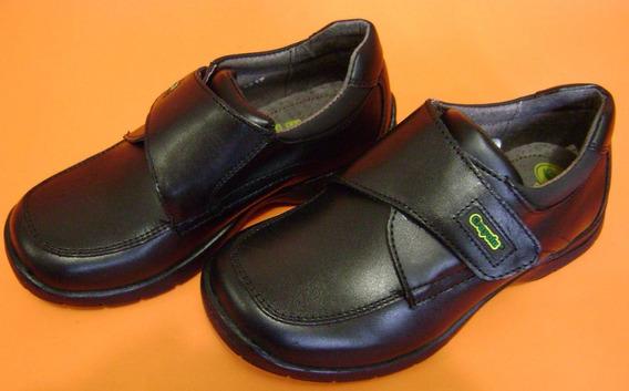 Zapatos Negro Para Niño Crayola No. 20