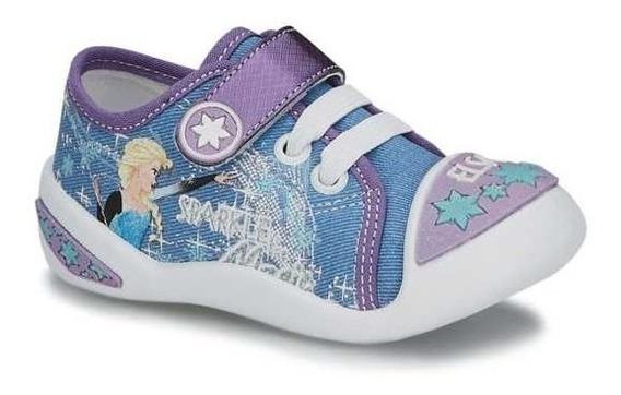 Tenis Niñas Elsa Frozen Andrea Licencia Disney