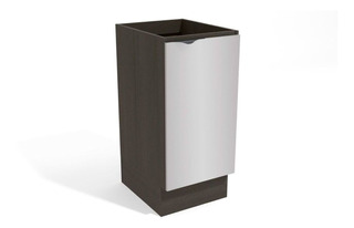 Gabinete Kappesberg Nox H761 1 Porta 40cm Onix/steel