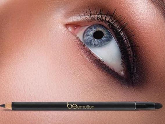 Lápis Ultra Black Com Esfumador Be Emotion Promoção
