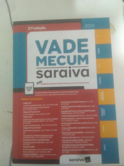 Cadê Mecum 2019 Saraiva
