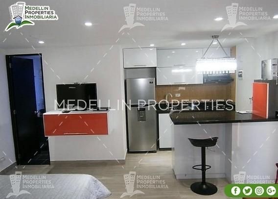 Apartamentos Amoblados Economicos En Medellin Cód: 4625