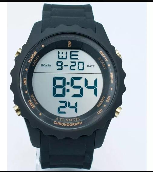 Relógio Digital Masculino Atlántis Original