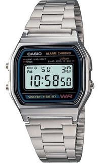 Reloj Casio Hombre A-158wa-1d Vintage Original