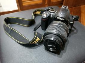 Câmera Nikon D3000 + Vr Kit 18-55mm
