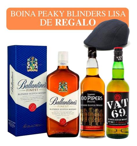 Imagen 1 de 8 de Whisky Importados Combo 3 Bot.