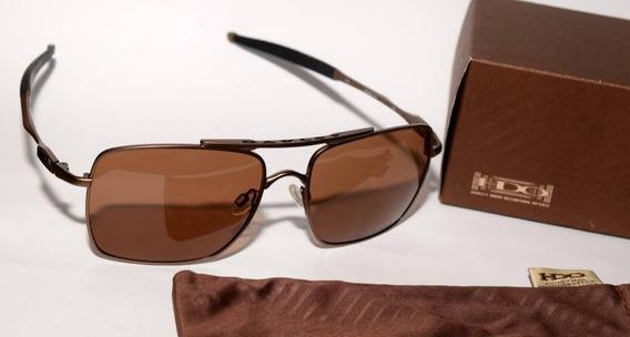Óculos De Sol Masculino Deviation Marrom Polarizado Cod0-495