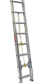 Escalera Extensión Aluminio 20 Peldaños Tipo Iii 112320