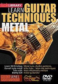 Aprenda Técnicas De Guitarra Metal Dvd