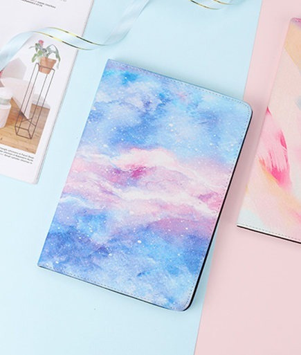 Capa Case Apple iPad 2 3 4 iPad Air Pro Couro Ceu Estrelado