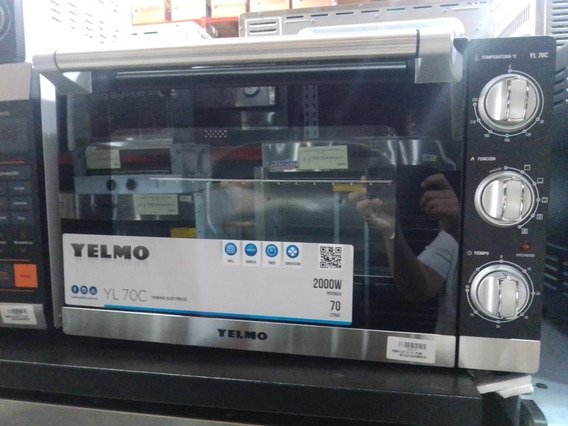 Horno Electrico 70lts Yelmo Yl70c 2000 W Potencia