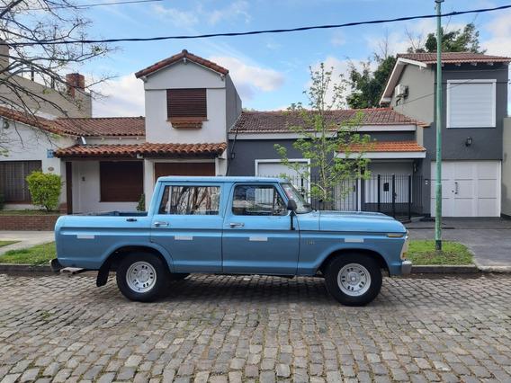 Ford F100 Doble Cabina Nafta/gnc Titular Sin Deudas