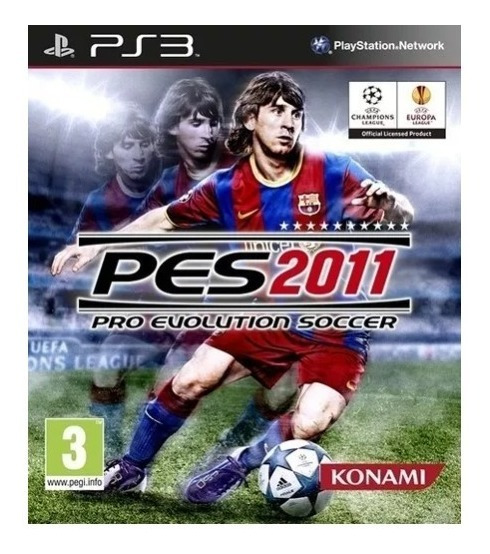 Pro Evolution Soccer 2011 Ps3 Jogo Mídia Física Pes11