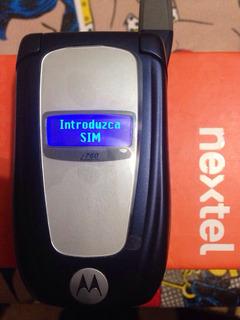 Nextel I764 Negro Refub Full En Caja Orange Nuevo Flip Azul
