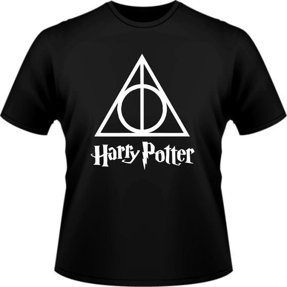 Camiseta Camisa Série Filme Harry Potter Estampada