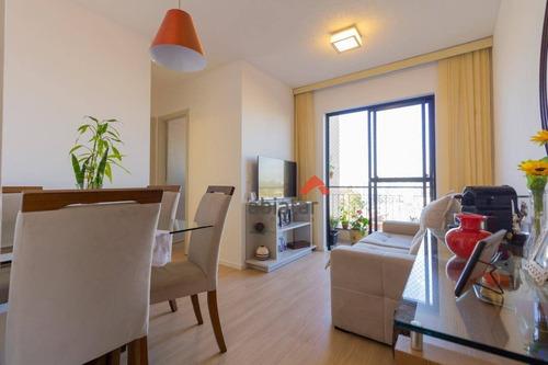 Apartamento Com 2 Dormitórios À Venda, 48 M² Por R$ 255.000,00 - Jardim Celeste - São Paulo/sp - Ap0248