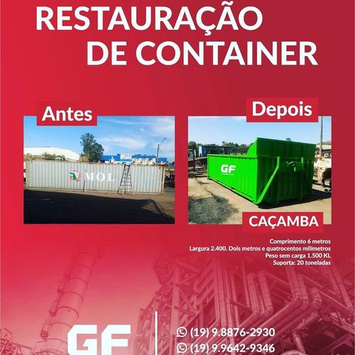 Imagem 1 de 2 de Caçamba Rollon / Container Marítimo .