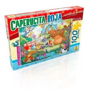 Puzzle Caperucita Roja X100pzs 194