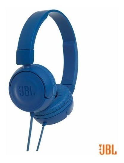 Fone Ouvido Azul Jbl T450 Blue On Ear Headphone Original