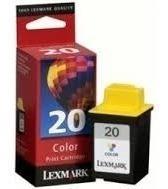 Cartucho Lexmark 20 Color