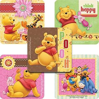 Pegatinas De Disney Winnie The Pooh And Friends - Favores De