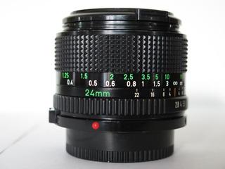 Lente Canon Fd 24mm 2.8. Gran Angular