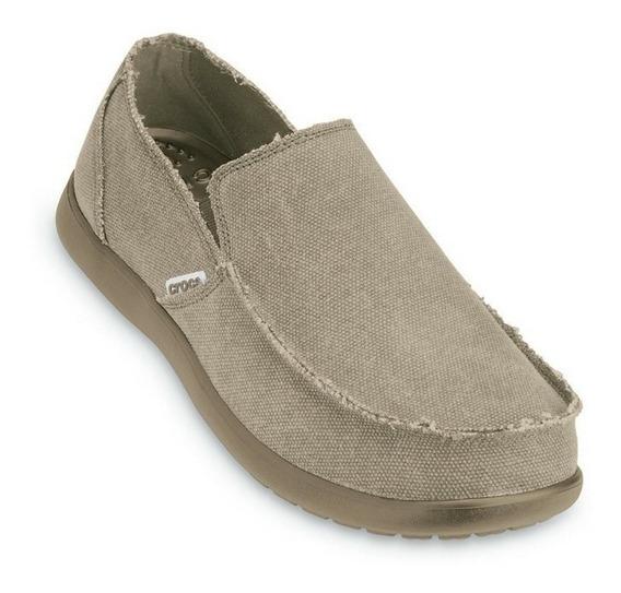 Zapatos Crocs Nauticos Urbanos Santa Cruz Hombre Mocasines